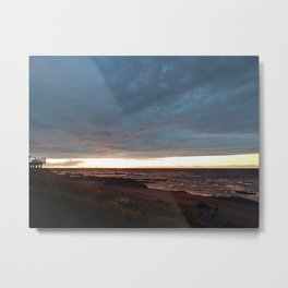 The View Under the Storm Metal Print