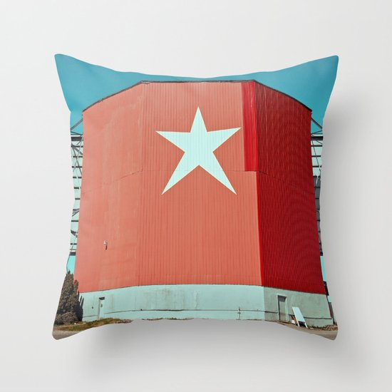 American nostalgia Throw Pillow