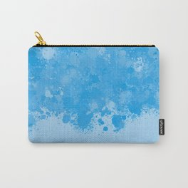 paint splatter on gradient pattern wb Carry-All Pouch