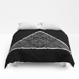 Root Two Triangle  Comforters