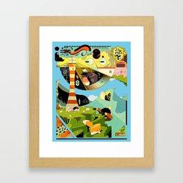 Crabhouse Framed Art Print