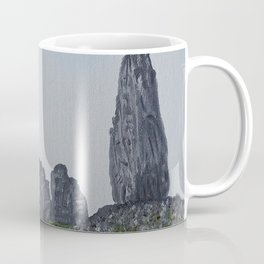 Scotland, Isle of Skye, Storr - Old Man / Oil Painting Coffee Mug