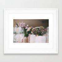 wedding Framed Art Prints featuring wedding by iulia pironea