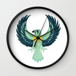 Egyptian Falcon Wall Clock