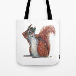 Squirrels' hat Tote Bag