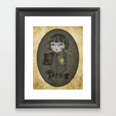 Come Night Framed Art Print