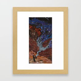 Playing to the Stars Framed Art Print