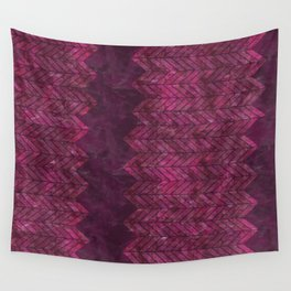 Painted Chevron Wall Tapestry