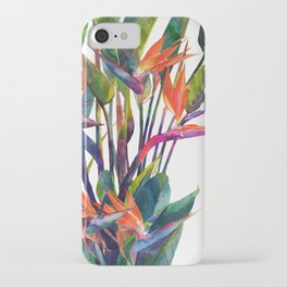 The bird of paradise iPhone Case