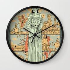 Saint Francis Wall Clock