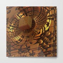 Gold Mine II Metal Print