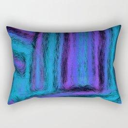 Fuzzy Blues Rectangular Pillow