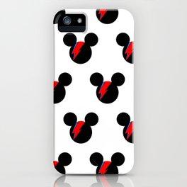 David Bowie Mouse iPhone Case