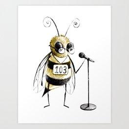 Spelling Bee Art Print