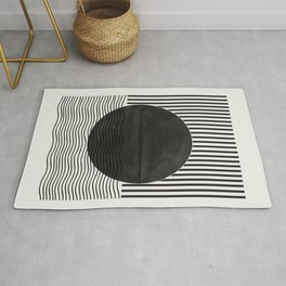 Abstract Modern  Rug