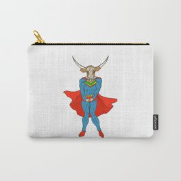 Man of Steer Carry-All Pouch