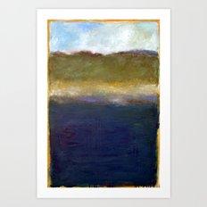 Abstract Dunes ll Art Print