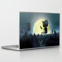 giants Laptop & iPad Skins featuring Hill Giants by GlennPorterArt