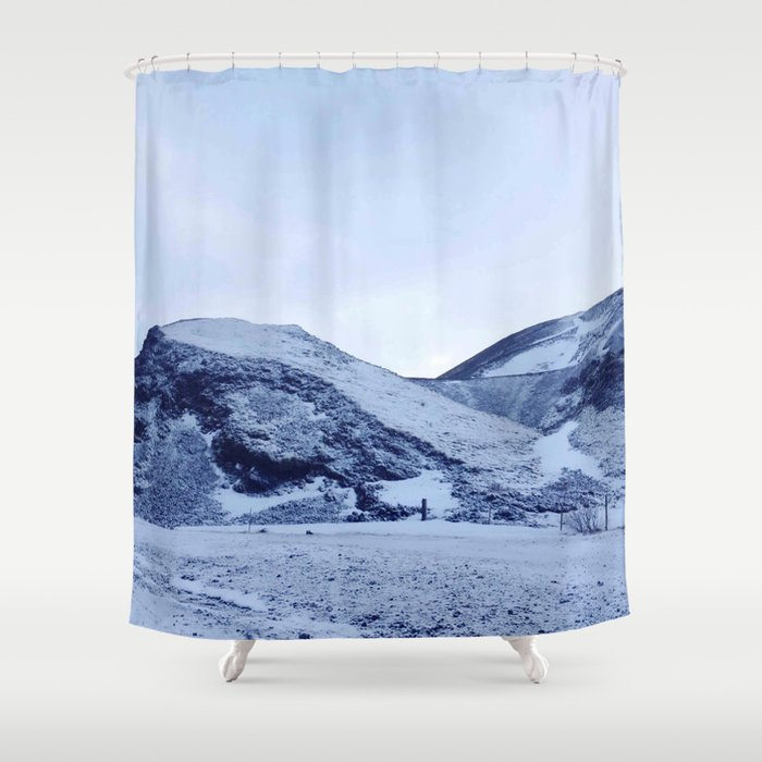 ICE Twins Shower Curtain