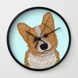 Cute Corgi Wall Clock