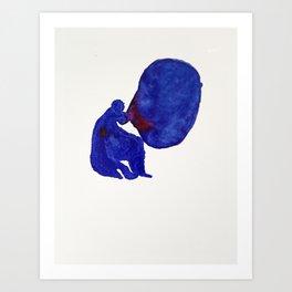 I mitt huvud är allting vårt. Art Print