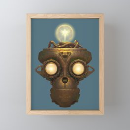 Robot With a Purpose No. 5 Framed Mini Art Print