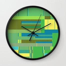Scandinavian Moon (Parrot Colours) Wall Clock