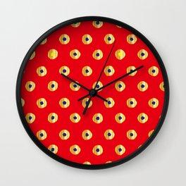 Traditional Japanese patter KANOKO Wall Clock