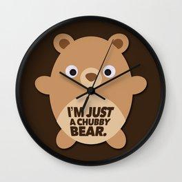 Chubby Bear Wall Clock