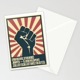 Developers unite Stationery Cards