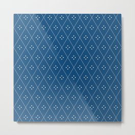 Mae Pattern VI Metal Print