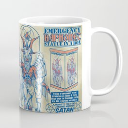 Baphomet Statue in a Box Coffee Mug