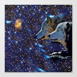 WOLF #77 Canvas Print