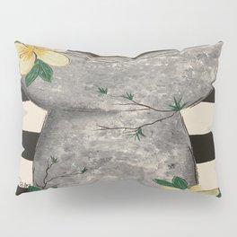 Latte Stone Plumeria Pillow Sham