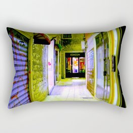 Alley Of Dreams Rectangular Pillow