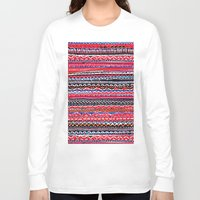 batik Long Sleeve T-shirts featuring Batik Attack by RAMALAMA