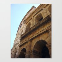 theater Canvas Prints featuring Theater by BMaw