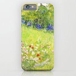 Vincent van Gogh - Daubigny's Garden - Digital Remastered Edition iPhone Case