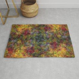 Floral Patchwork Rug