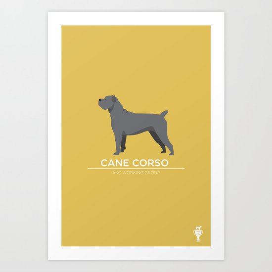 Cane Corso Art Print