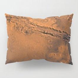 Valles Marineris, Mars Pillow Sham