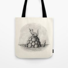 'Where Did You Go?' (Grey) Tote Bag