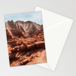 Unusual Rock Formations at Kodachrome Park, Utah Stationery Cards