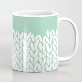 Half Knit Mint Coffee Mug