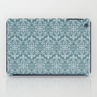 damask iPad Cases featuring Damask by Xiao Twins