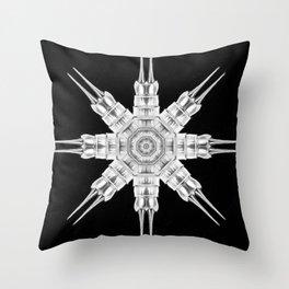 Ninja Star 8 Throw Pillow