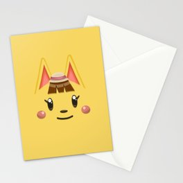 Animal Crossing Katie Stationery Cards