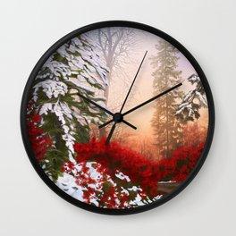 Christmas Way Wall Clock
