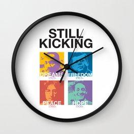 Still Kicking Wall Clock