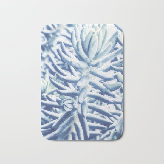 Sunday Morning Succulents Bath Mat